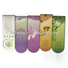Cheap folding magnetic bookmark promotion gift