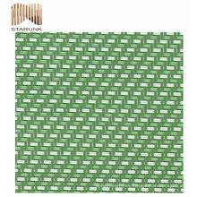 tela de malla hexagonal reutilizable de pvc al aire libre