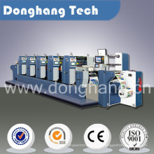 Adhesive Label Printing Machine with One Slitter Station