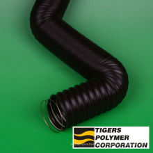 Tiflex P , P-2 type air duct hose for air supply and industrial use. Manufactured by Tigers Polymer. Made in Japan
