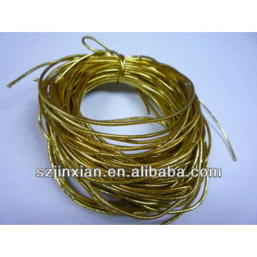 best price 2mm gold rubber elastic cord