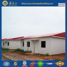 Steel Structure Villa/Prefab Steel Structure Houses for Living (SSH-14509)