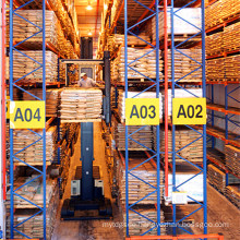 Heavy Duty Vna Pallet Racking for Industrial Warehouse Storage