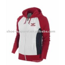 Women's sports tracksuit / Winter Hooded jacket