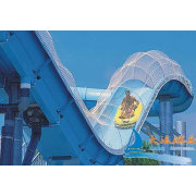 Custom 240 - 360 Riders Navigator Fiberglass Amusement Park Water Slides Rides