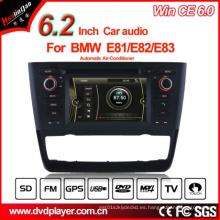 Windows Ce GPS del coche para el reproductor de DVD de BMW E81 E82 E88 DVD de navegación Hualingan