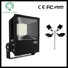 Luz LED com chip Philips, projector LED para exterior de 100 W