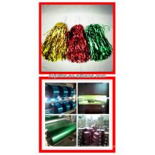 Película colorida de MPET para guirnaldas