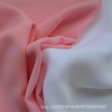 Bekannte Polyester Perle Chiffon Stoff