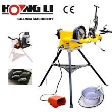 Machine à fileter électrique de tige d'acier de Hongli SQ50D avec des matrices de HSS, CE et CSA