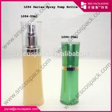 Vente en gros de bouteilles en acrylique blanc pour la fabrication personnelle de bouteilles de parfum