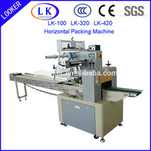 Horizontal Automatic flow packing machine for small parts