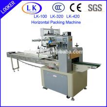 Máquina de embalagem automática horizontal do fluxo para a ferragem