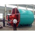 proceso de lixiviación de tanques de diseño profesional