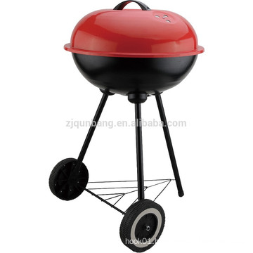 hand-propelled wholesale apple type indoor & outdoor commercial charcoal smokeless bbq grill