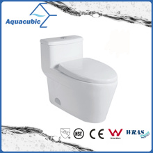 One Piece Siphonic Dual Flush Toilet in White (ACT9329)