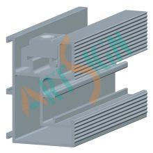 PV Solar Panel Mounting Bracket Aluminium Rails
