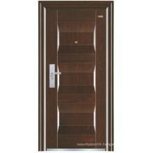 Deep Embossing Panel Steel Security Door