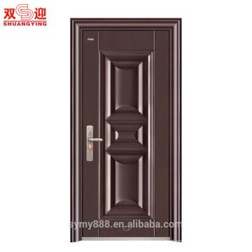 Один из нержавеющей стали конструкцией двери Анти-кражи дверь гальванизированная стальная панель двери кожи