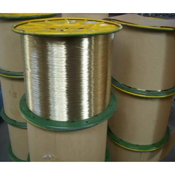 Messing beschichtet Stee Wire / Messing beschichtet Schlauch Draht