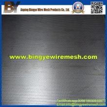 Metal perforado de acero inoxidable utilizado en bandejas portacables
