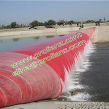 China Round Rubber Bag Dam Bladder to South Africa
