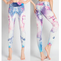Anpassade sublimering fitness leggings damer leggins sport