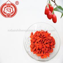Crema de goji china ningxia seca colheita de bagas de goji em 2016