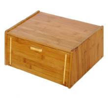 China for Bamboo Bread Box Bamboo bread bin bamboo bread box storage box export to Wallis And Futuna Islands Factory