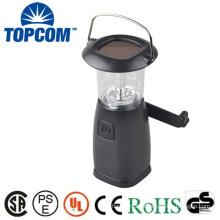 Popular 6 LEDS Solar Power Hand Cranking Dynamo led rechargeable lantern
