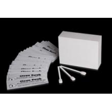 Impresora de tarjetas de códigos de barras / recibos / etiquetas / códigos de barras utilizada Esponja de espuma limpia pre-saturada / embalaje separado Hisopo IPA Ventas directas de la fábrica