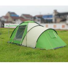 Tente de camping en plein air automatique double 2-4 personnes en relief