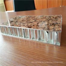 PE-beschichtete Steinfarbe Aluminium-Wabenplatten für Wandverkleidungen