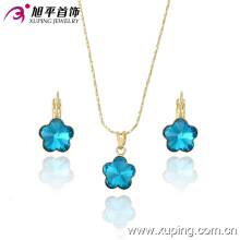 Xuping Fashion High Quality Graceful Crystal Jewelry Set for Women′s Best Gift 63175