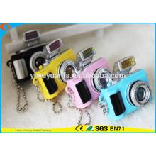 Alta Qualidade Novidade Design Camera Assorted Som Ativado LED Keychain