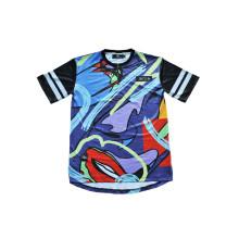 T-shirt à manches longues personnalisé à plusieurs couleurs pour vêtements de sport (T5027)