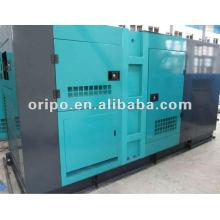 Бесшумный дизельный генератор мощностью 125кВА с международной гарантией