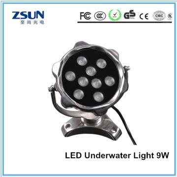 Luz subacuática LED 3000k 9W