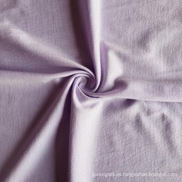 Tela de bambú 70% algodón orgánico 30% fibra de bambú