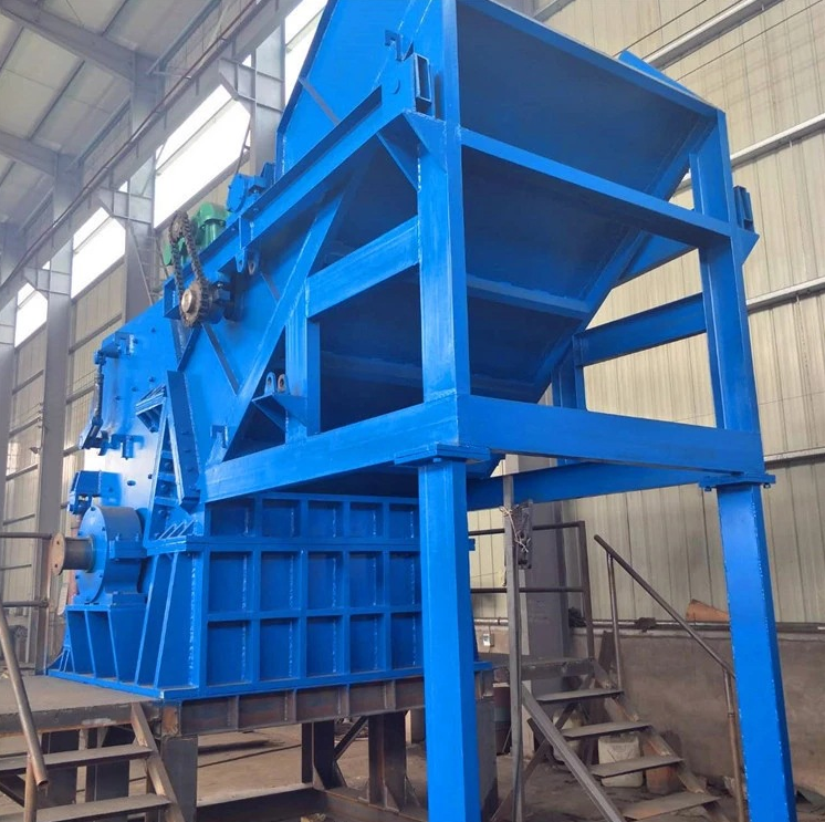 Heavy Duty Double Shaft Shredder Machine