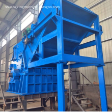 double shaft heavy duty mobile shredding machine