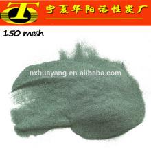 Абразивные зерна зеленого карборунда карбида кремния производство