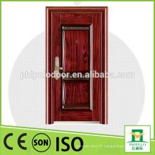 Belle conception chère portes utilitaire bonne porte en bois en acier étanche