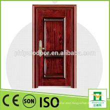 Beautiful design expensive doors utility good waterproof steel wood door