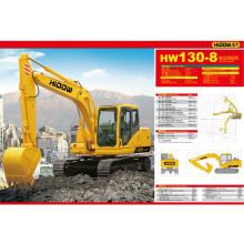 Excavatrice de chenille de Sinotruk Hidow pour le chargement, creusement (HW130-8)