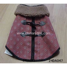 A dog clothes with a heavy collar