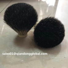 24mm Bulb Black Badger Hair Shaving Brush Knot