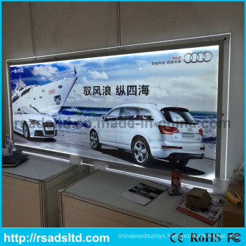 High Brightness Slim Crystal Light Box for Advertising
