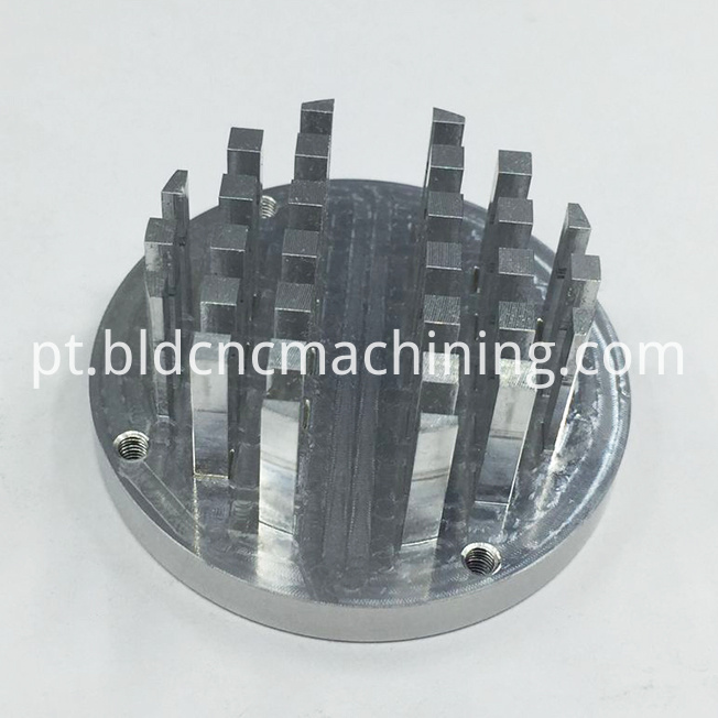 machined aluminum heat sink