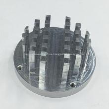 Piezas de aluminio de fresado CNC para el disipador de calor
